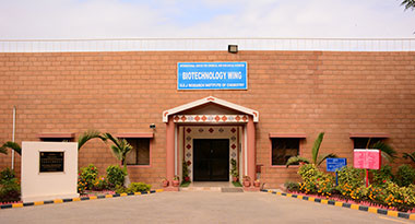 Biotechnology Wing